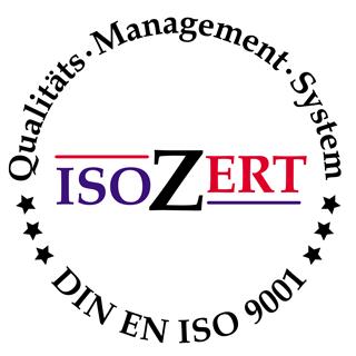 ISOZert DIN EN ISO 9001